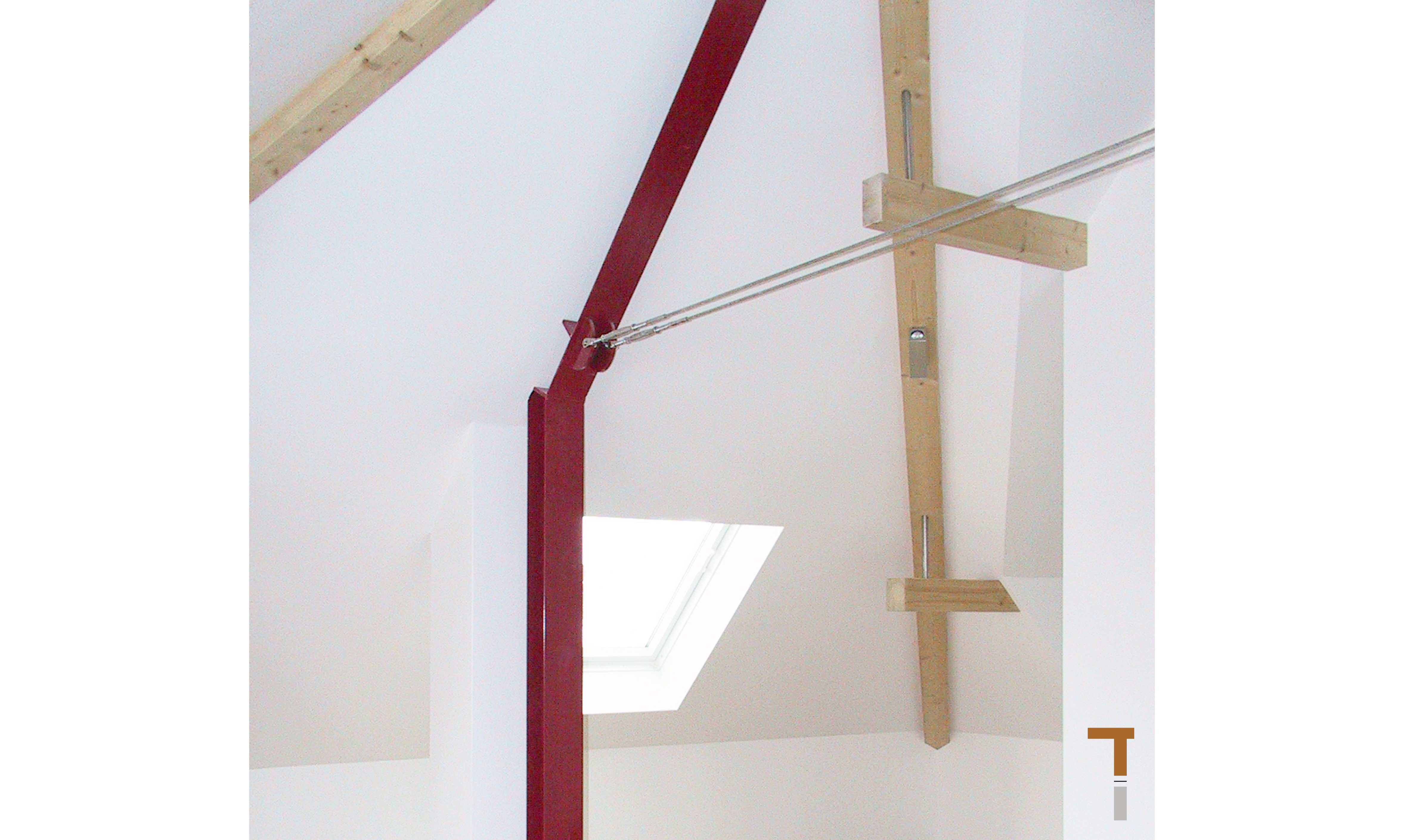 Dachgeschoss / Stahlkonstruktion